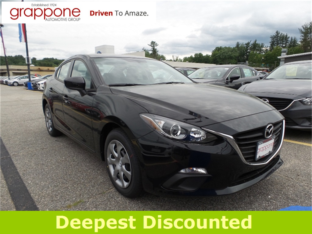 new 2016 mazda mazda3 i sport 4d sedan in bow di state md0555 the grappone automotive group. Black Bedroom Furniture Sets. Home Design Ideas
