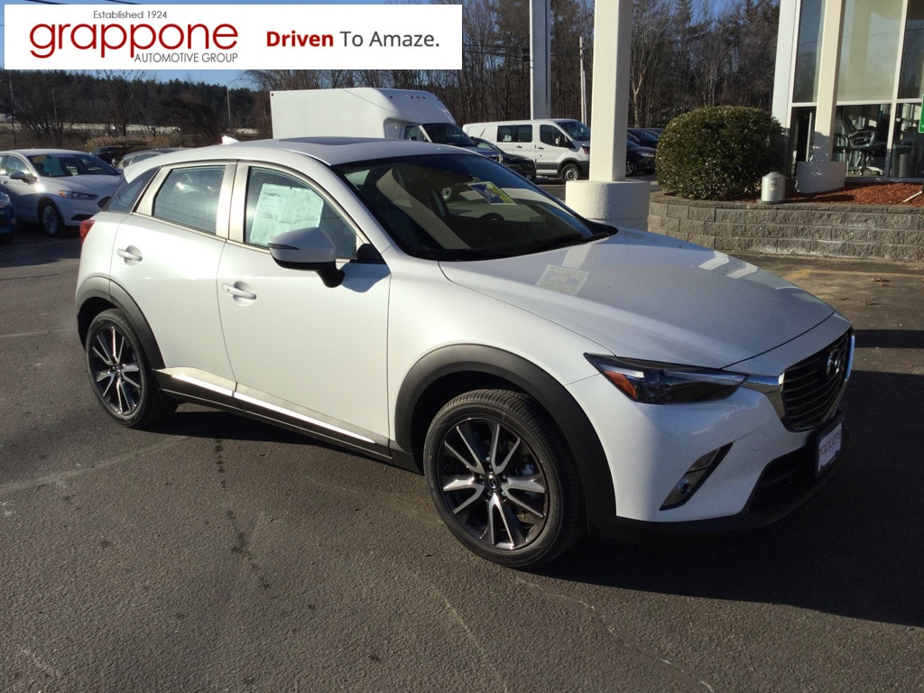new 2018 mazda cx 3 grand touring 4d sport utility in bow di state mf0072 the grappone. Black Bedroom Furniture Sets. Home Design Ideas